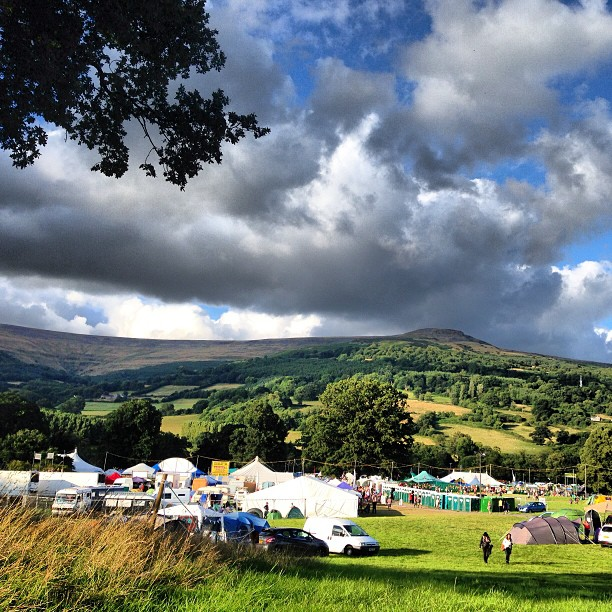 Not a bad setting for a festival! #beautiful #wales #greenman #pootopia