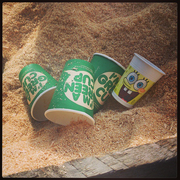 This is one happy cup #Pootopia #KendalCalling2013 #KendalCalling