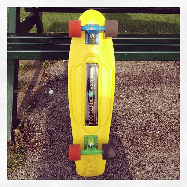 #pennyboard #pennyparadise #pennyskateboards #pushinplastic #plasticskateboards #plasticcruiser #greentrucks #bluetrucks #pootopia