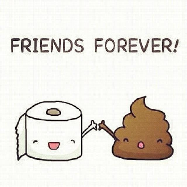 Duo for life.  #bff #stinkypoo #tp #playpoo #poopcurious #pieceofshit #pootopia #bathroombreak