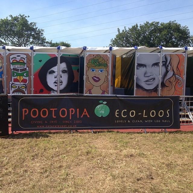 #pootopia #isleofwightfestival #IOW haha!