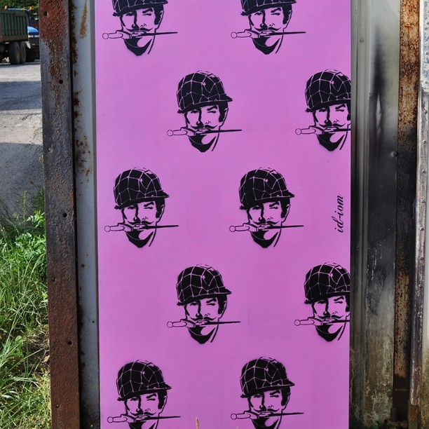 First pics of the boards we did for #pootopia. Plenty more where this came from... #stencil