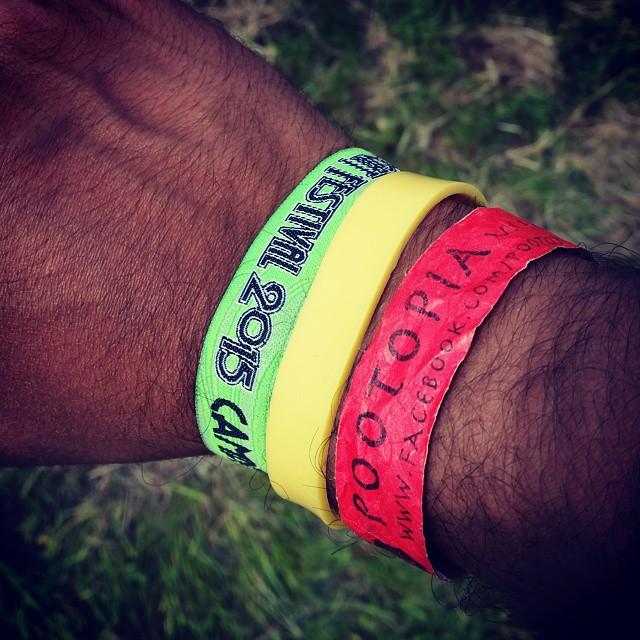 #iowfestival2015 #isleofwight2015 #redgoldgreen #pootopia