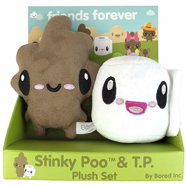 #stinkypoo #tp #friendsforever #plush #toys #pootopia  http://www.closeoutzone.com/product/stinky+poo+and+tp+plush+set.do